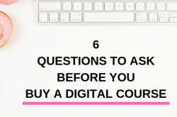Should You Buy Online Courses as a Blogger? 6 Questions Answered!