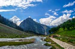 Sonamarg, J & K, India, 19-20th July, 2017