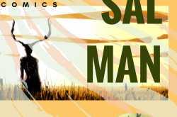 Super Hero Comics: Sal-Man and the Black Buck episode