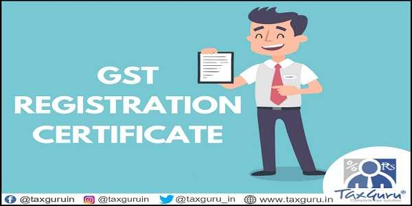 Suspension Of GST Registration With Effect From 1st February, 2019