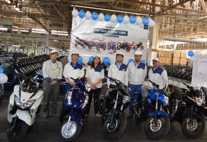 Suzuki Motorcycles Cross The 4 Million Sales Mark In India