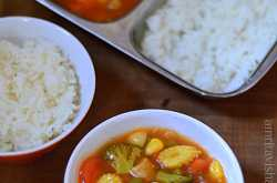 Sweet and sour Vegetables-Vaanya\