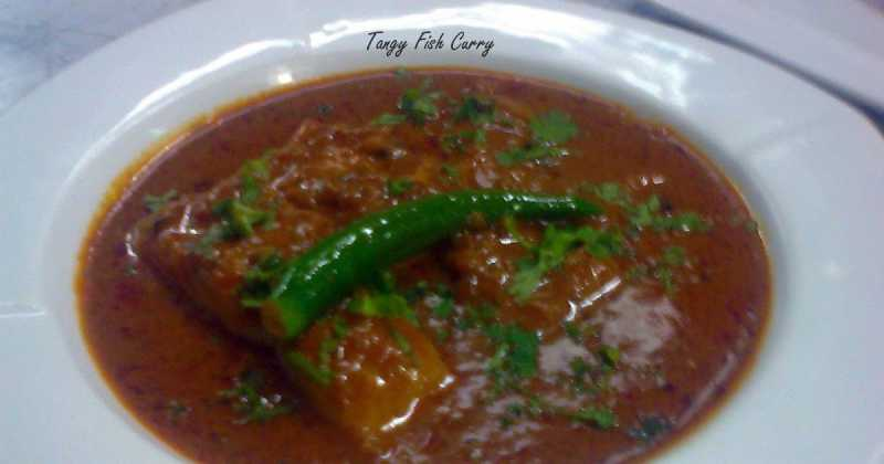 TANGY FISH CURRY  - TAMARIND BASED FISH CURRY