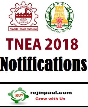 N R REJIN PAUL Blogs TNEA 2018 Application Form Fee Details