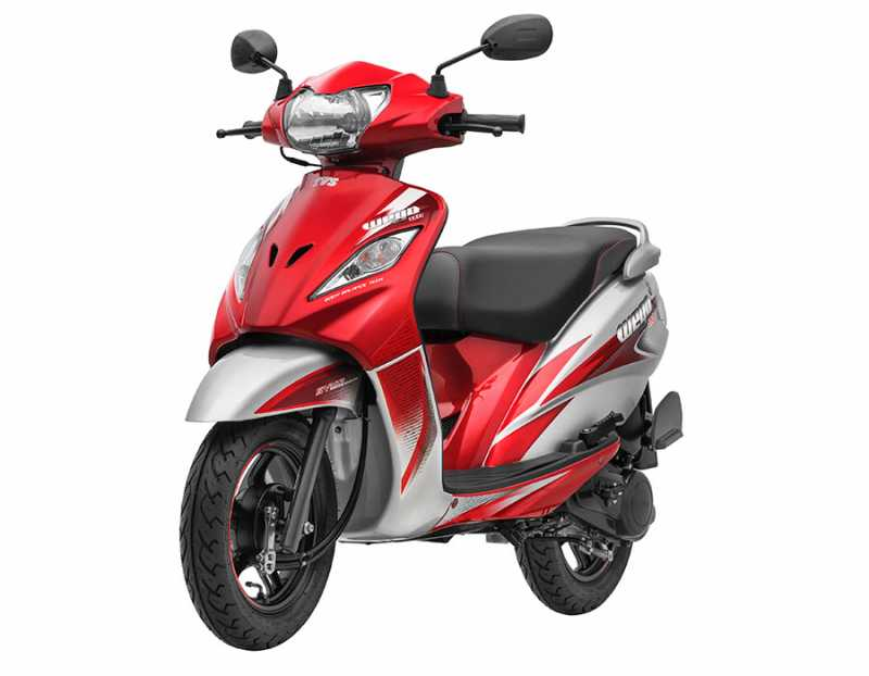 TVS WEGO Refresh Gets 4 New Colors, 20L Utility Box And More