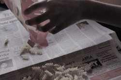 Tangy Mini Fusilli ~ Rustling up a quick fix brunch