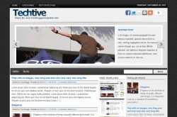 Techtive Free Premium Blogger Template