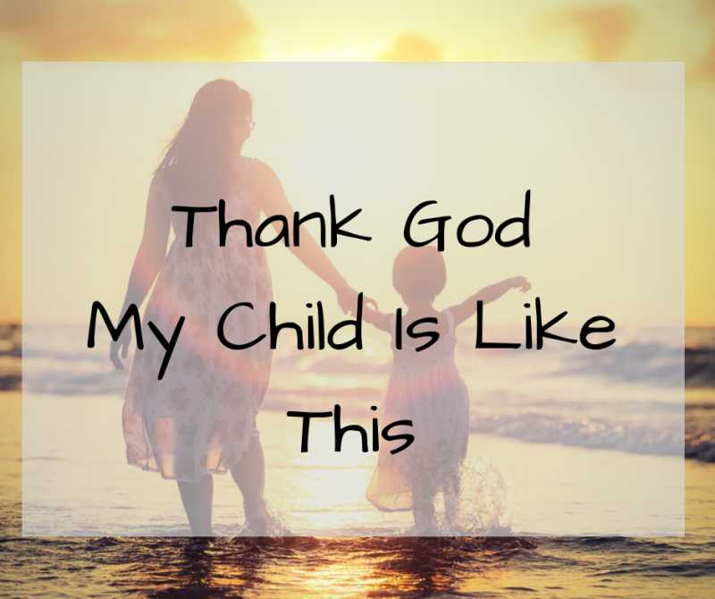Thank God My Child Is Like This | Little Duniya