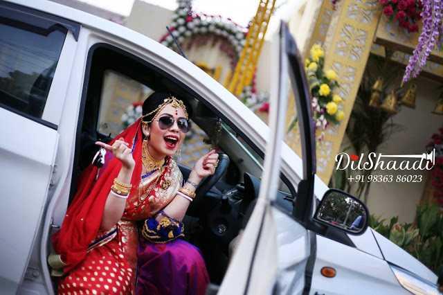 The Blushing Bride: Ankhi Nath