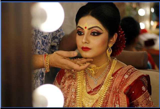 The Blushing Bride: Atreyee Mukherjee (ONAM)