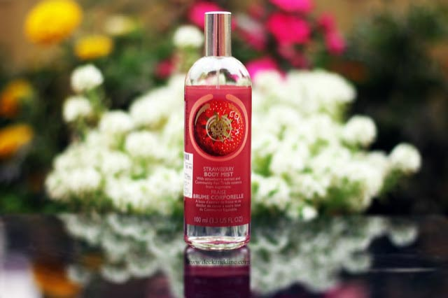 The Body Shop Strawberry Body Mist Review