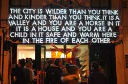 The City Is Wilder Than You Think And Kinder Than You Think.