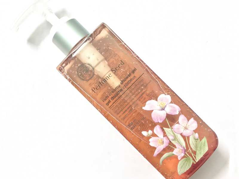 The Face Shop Perfume Seed Rich Creamy Shower Gel Review