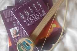 the making of 'duets' - our book of collaborative poems
