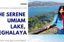 the serene umiam lake, meghalaya
