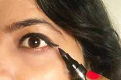 the simple cat eye flick tip - gloss and magic