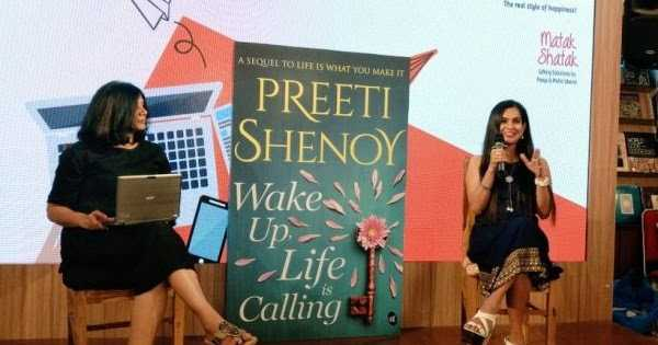The Cover Launch Of Wake Up, Life Is Calling: A Novel By Preeti Shenoy, And An FB LIVE