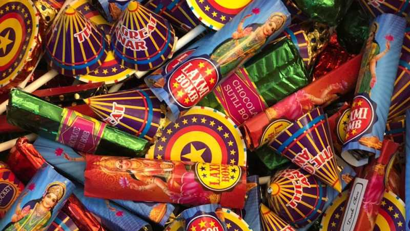 This Diwali, You Can Have Your FIRE CRACKERS & Eat Them Too!