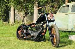 this royal enfield based inr 7 lakh custom motorcycle screams for attention