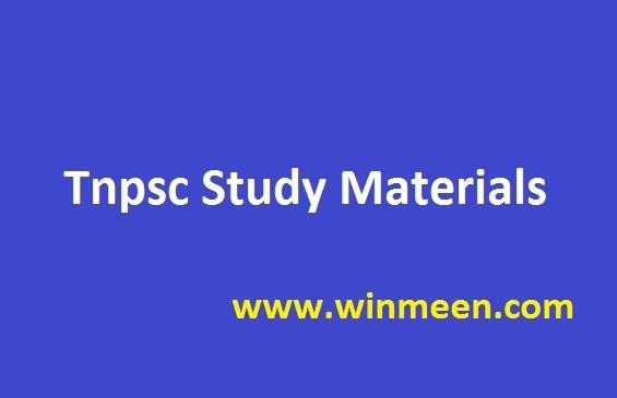 tnpsc group 4 study material free download pdf