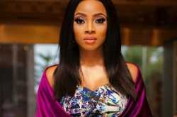 toke makinwa escapes being roasted by house fire