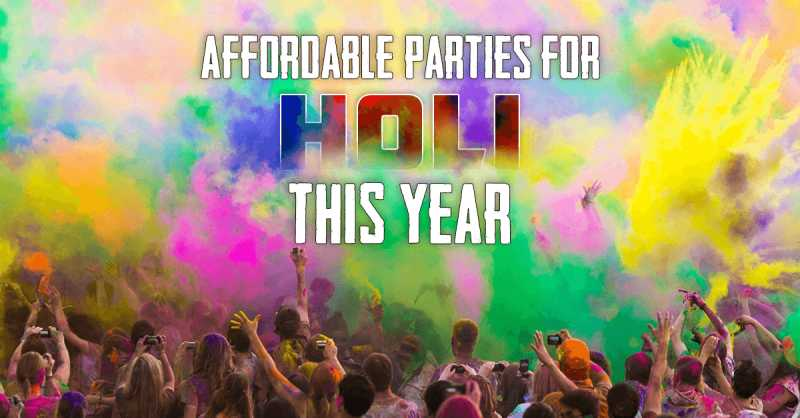 Top 10 Holi Parties In And Around Mumbai You Shouldn