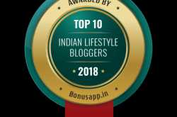 top 10 indian lifestyle bloggers-2018 - awarded by bonus app