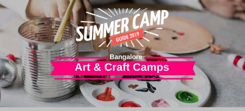 Top 15 Summer Art Camps For Your Children In Bangalore