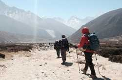 Trekking in Indian State of Himachal Pradesh