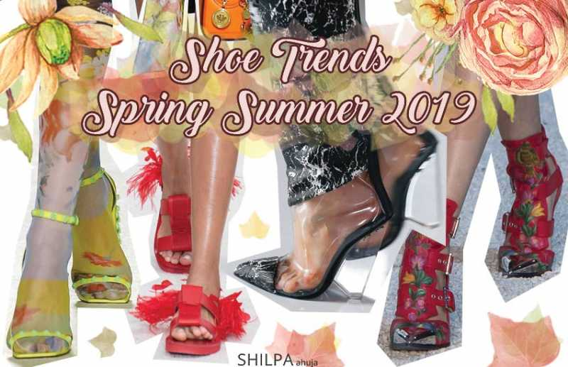 Trendy Shoes: Spring Summer 2019 Footwear Trends To Try