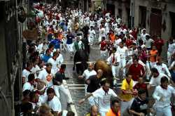 Two Americans gored by bulls in the San Fermin bull running festival