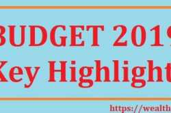 Union Budget 2019: Key Highlights | WealthtechSpeaks