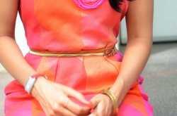 Vintage Pink Day Dress