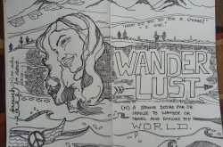 WanderLust- an illustration inspired by my Traveller friend- earthymind (https://earthymind.wordpress.com/)