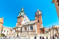 wawel cathedral, krakow - a beautiful piece of architecture in poland, europe