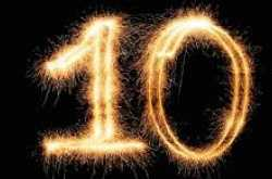 We are TEN today!
