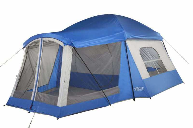 Wenzel 8 Person Klondike Tent - Family Camping Tent | Campstuffs