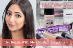 Wet N Wild Makeup Review - GRWM + First Impressions Video - Love Fashion Makeup