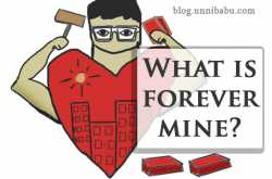 what is forever mine? | personal journal #3 | unni