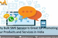 Why Bulk SMS Service Is Great for Promoting Your Products and Services in India