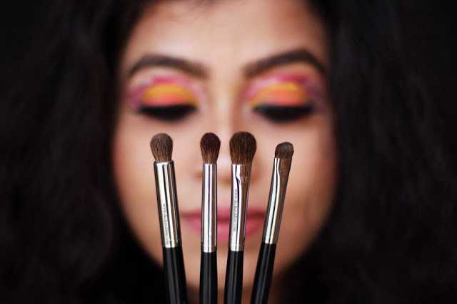 Wiseshe By Anamika Flat Eye Makeup Brushes And Pro Eye Shadow Crease Blending Brushes Review