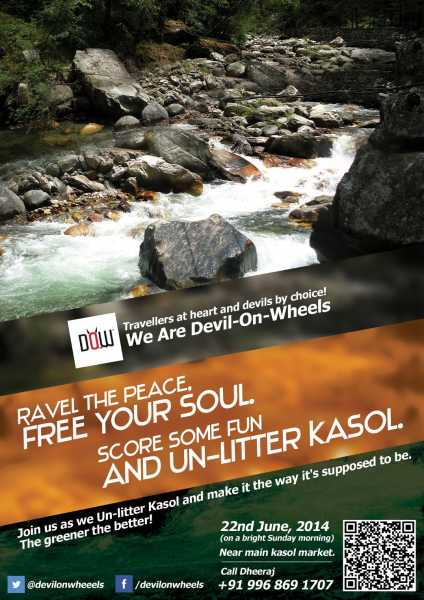 Yayawar Goes Cleaning Kasol - Germination Of A Thought