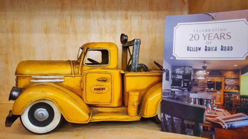 Yellow Brick Road: Taj Ambassador