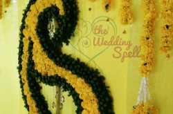 Yellow marigold wedding at Bangalore {Décor Styling by Reena Alex}