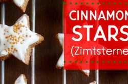 zimtsterne (cinnamon stars)