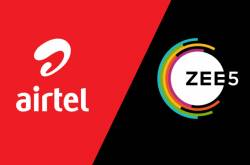 Airtel's New Prepaid Plans Come With Free Zee5 Content