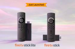 Amazon Fire TV Stick 3rd Generation And Fire TV Stick Lite Launched In India