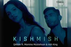 Ash King, Momina And Qaran's Debut Collaboration 'Kishmish' Is About Love At First Sight At A Wedding!