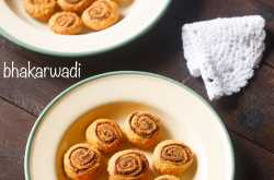 bhakarwadi recipe, how to make bhakarwadi recipe | bakarwadi recipe