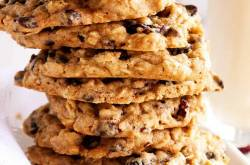 Cherry, Almond, Chocolate Chip And Oatmeal Cookies - The Picky Eater